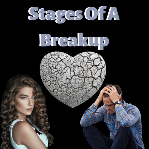 stages of breakup grief for men